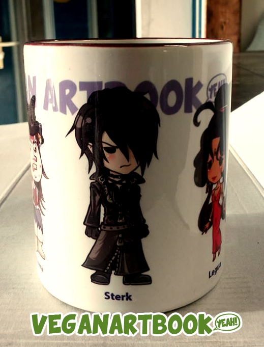 MUG B - Vegan Artbook