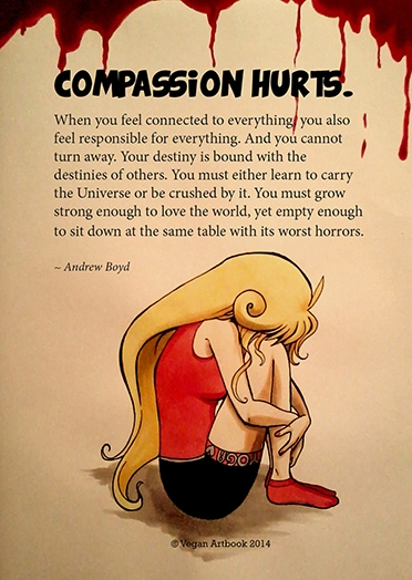 A4 - Art Print - Compassion Hurts