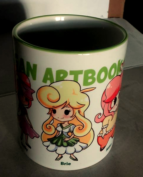 MUG A - Vegan Artbook